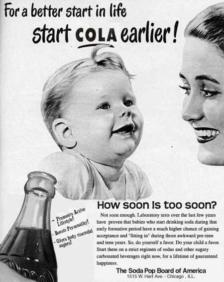 pop kids soda ads parenting vintage g rated - 7790334208