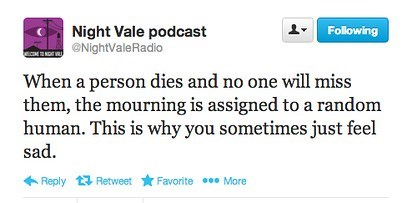 nightvale Death dying mourning sadness failbook g rated - 7790380800