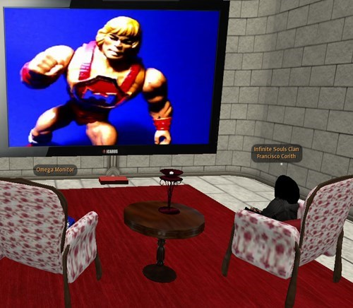 wtf IRL he man Videogames funny what i love he-man second life