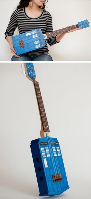 tardis doctor who ukulele - 7790453504