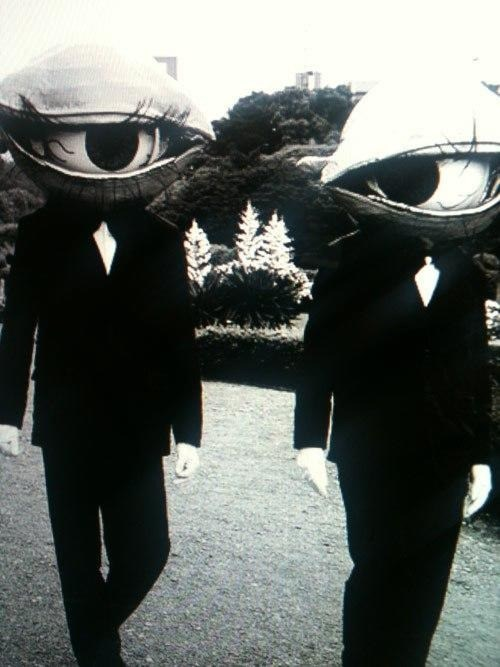 wtf,eyeballs,The Residents,funny