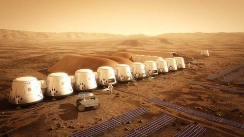 astronauts Mars science funny - 7790540544