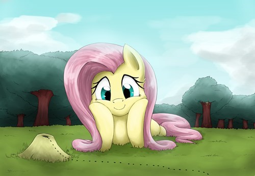 nature art fluttershy - 7790651648