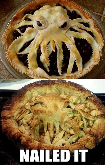 baking noms cthulhu Nailed It - 7790734336