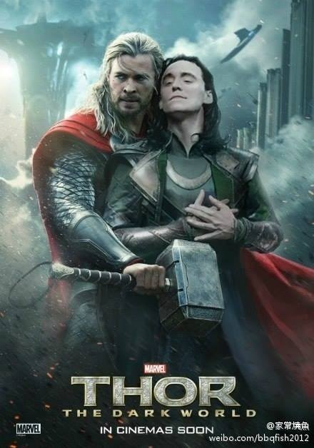 keeping it in the family,loki,shipping,bromance,Thor,posters