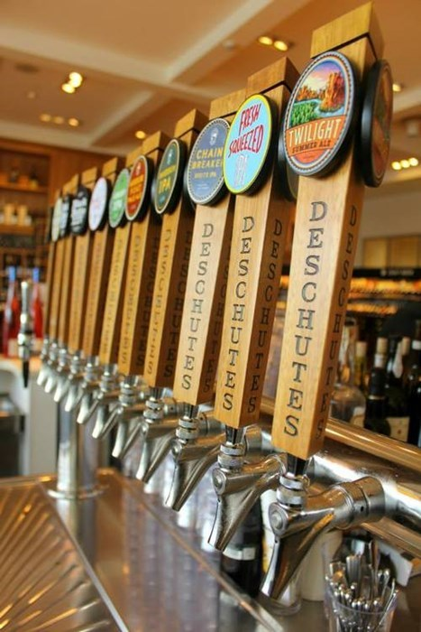beer taps deschutes awesome funny - 7790842624