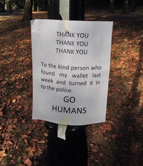 humans,restoring faith in humanity week