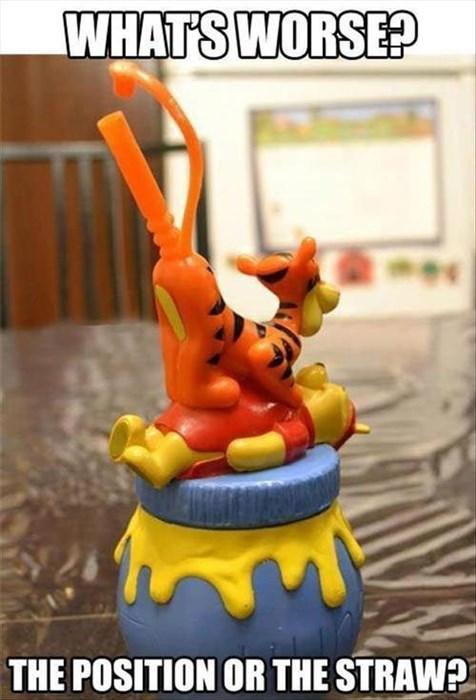 Ruined Childhood straws winnie the pooh - 7790872832
