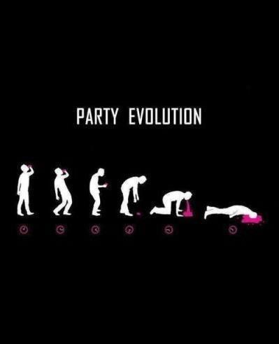 evolution,drunk,Party,funny
