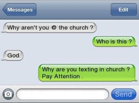 god,checkmate,church,texting