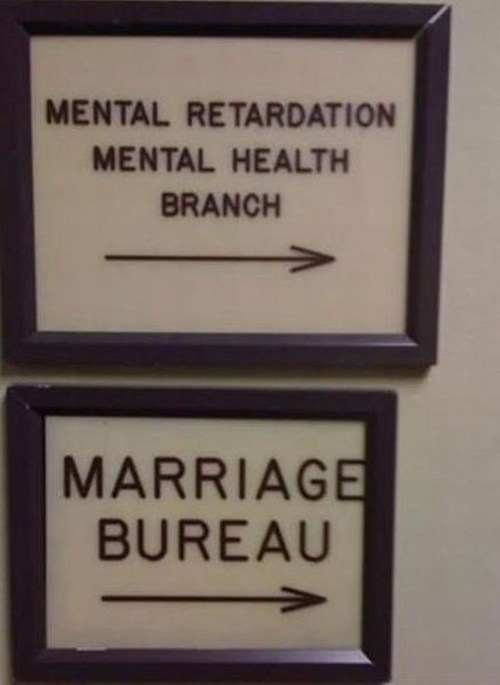 sign,marriage,funny