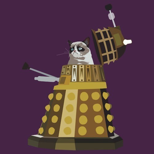 Grumpy Cat daleks for sale doctor who - 7791304960
