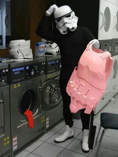 laundry pink stormtrooper - 7792627200