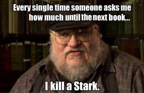 Game of Thrones George RR Martin house stark - 7792733696
