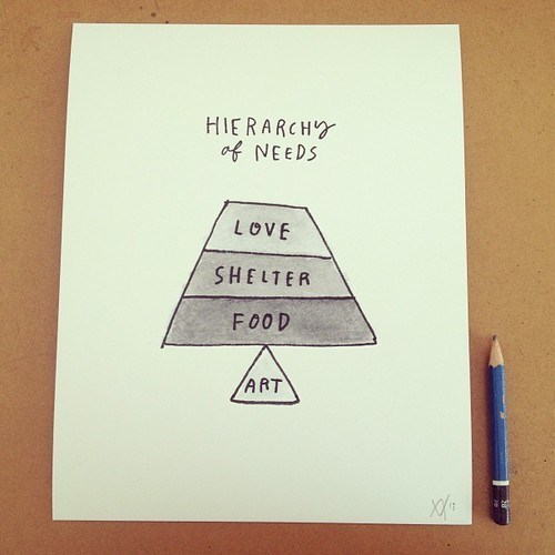 school,art,hierarchy of needs