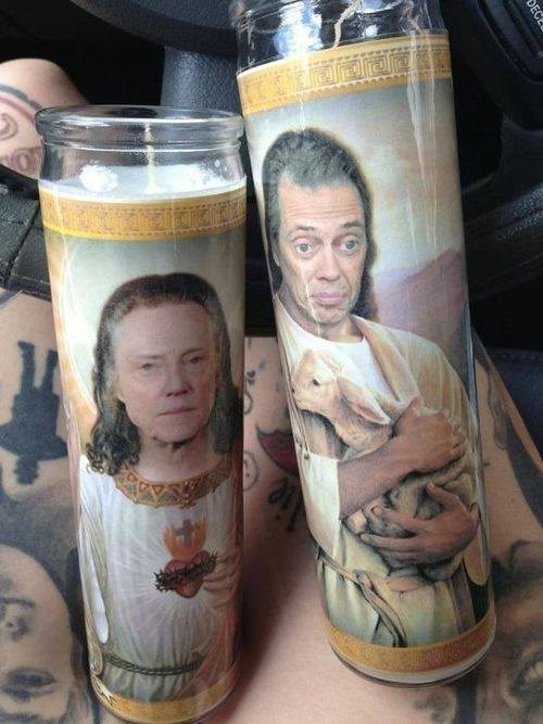 wtf candles steve buscemi christopher walken funny - 7793015808