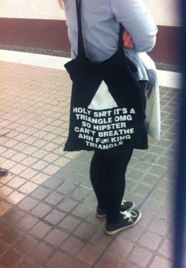 bag hipster poorly dressed - 7793055232
