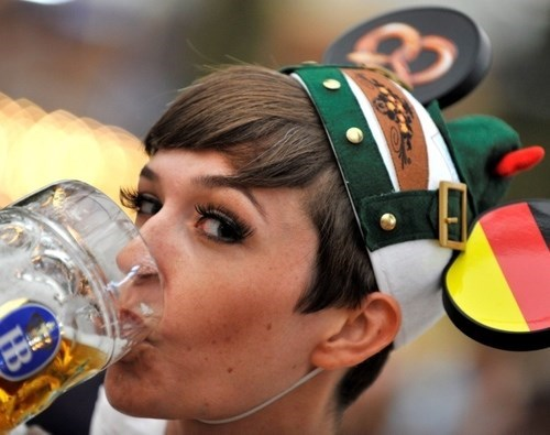 Ocktober Fest Is Like Disney Land for Germans