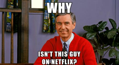 Mister Rogers,PBS,netflix