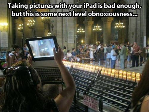 ipad,people are stupid