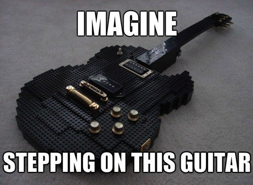 lego guitars funny - 7793632768