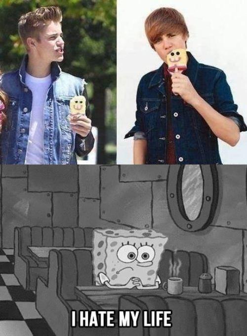 Music SpongeBob SquarePants justin bieber - 7793638912