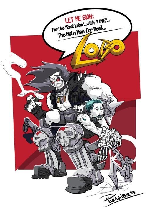 lobo Fan Art - 7793732352