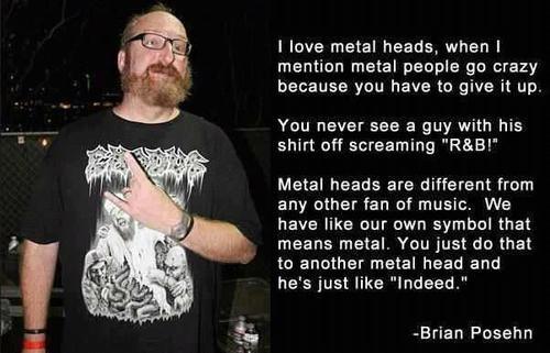 metal brian posehn metal head - 7793767168
