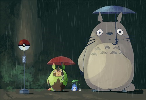 art hariboogu my neighbor totoro - 7794065408