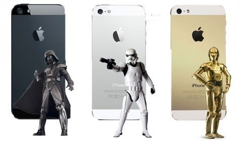 C3PO,star wars,stormtrooper,darth vader,iphone