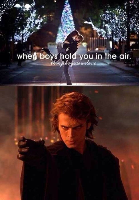 star wars force choke thingsboysdowelove anakin - 7795403520