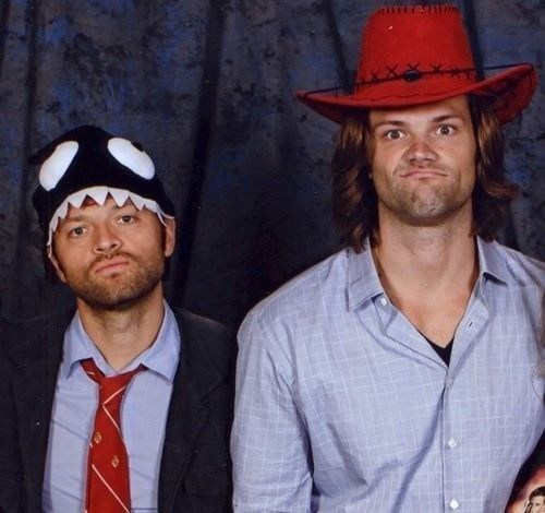 Supernatural,misha collins,Jared Padalecki