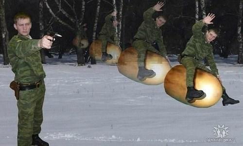 russia guns wtf bullets funny seems legit - 7795444480