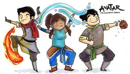 cartoons Avatar korra