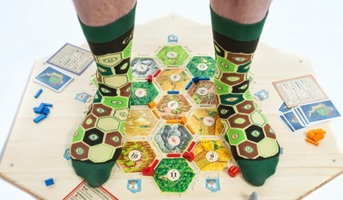 socks,design,settlers of catan,nerdgasm,board games,funny