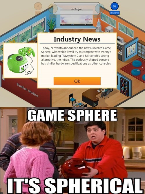 game sphere,drake and josh,game dev tycoon
