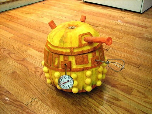 daleks jack o lanterns doctor who - 7795760128
