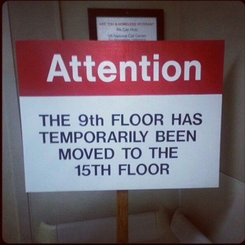 building floors,15th floor,attention,9th floor