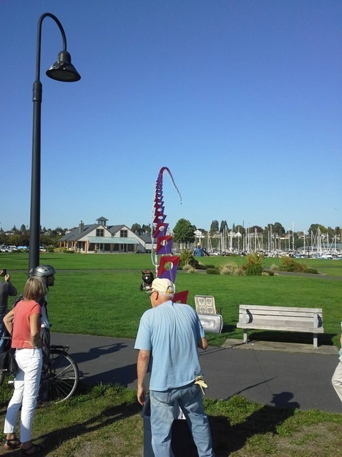 old people rock design kites funny