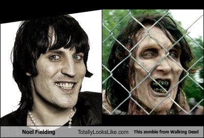 Noel Fielding totally looks like zombie funny The Walking Dead