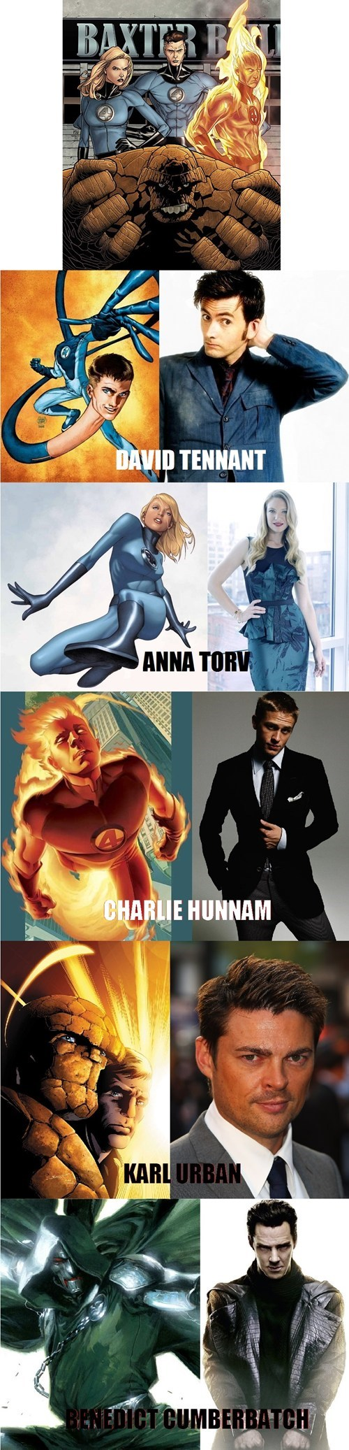 dream cast Fantastic Four fandom problems - 7797089024