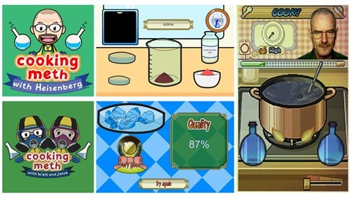 cooking mama,breaking bad,drugs