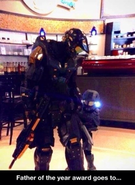 cosplay,halo,parents