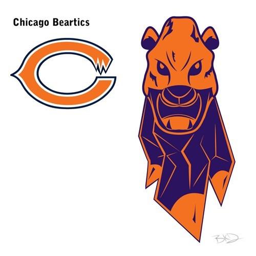 Cartoon - Chicago Beartics