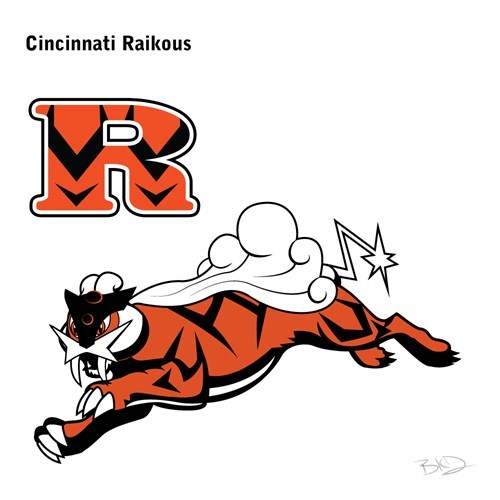 Cartoon - Cincinnati Raikous
