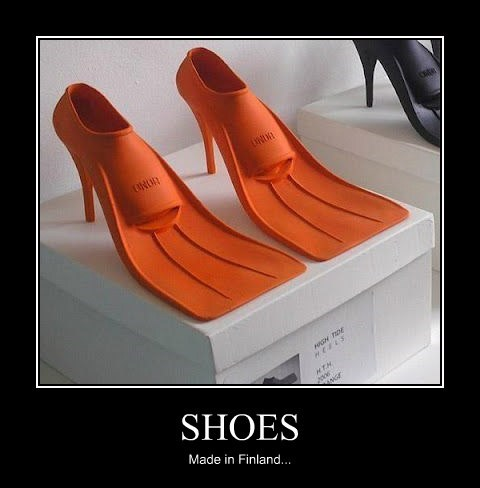 shoes swim funny flood - 7797598464