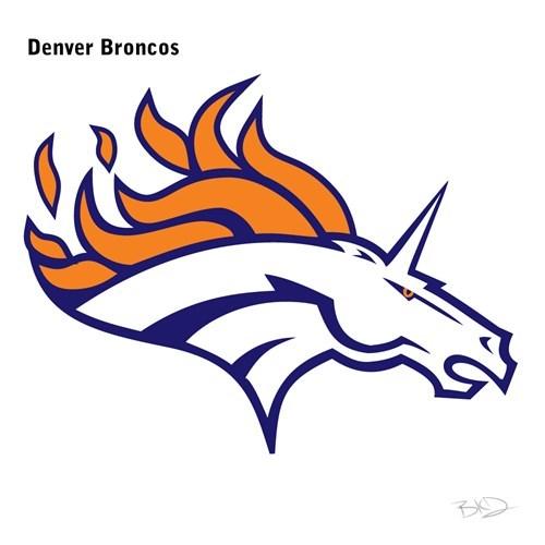 Clip art - Denver Broncos