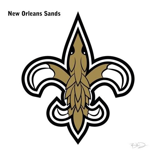 Emblem - New Orleans Sands