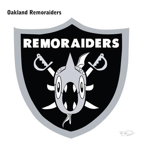 Logo - Oakland Remoraiders REMORAIDERS