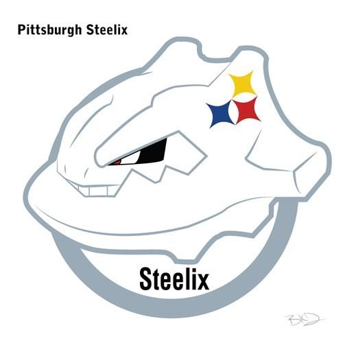 Logo - Pittsburgh Steelix Steelix